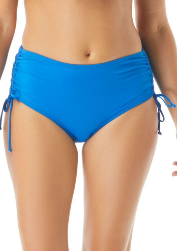 Hayden High Waisted Side Tie Bikini Swim Bottoms