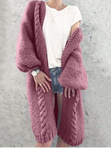 Autumn/Winter Loose Mid-length Cardigan