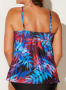 AMELIE CUP SIZED TIE FRONT UNDERWIRE TANKINI SET