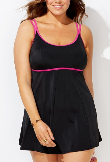 CERISE LINGERIE SWIMDRESS